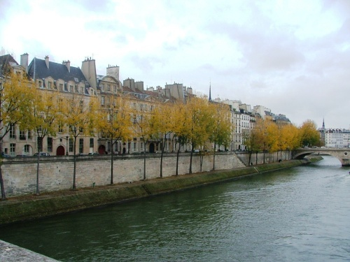 Fall foliage along the Seine: eat a diet like the folks who live along the Mediterranean for long-lasting benefits