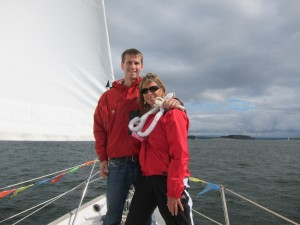 Kyle and Conor Sail for the Cure 2011