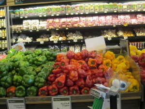 Peppers are a colorful and tasty choice
