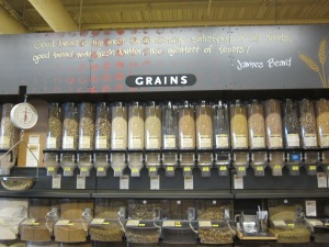 Whole grains galore! Be imaginative and try new ones.