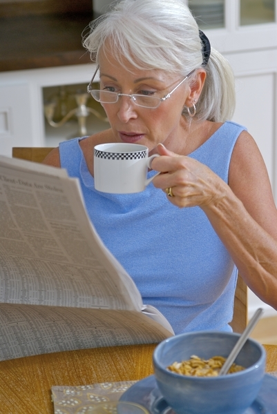 Most of my patients stay informed by reading the paper and listening to the news and we sort through the latest info together