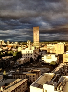 Our beautiful city of Portland: this is one vibrant town