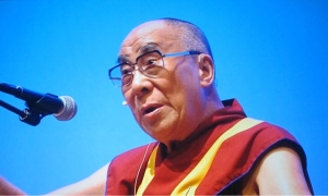 His Holiness, the Dalia Lama in Portland, OR on May 11, 2013