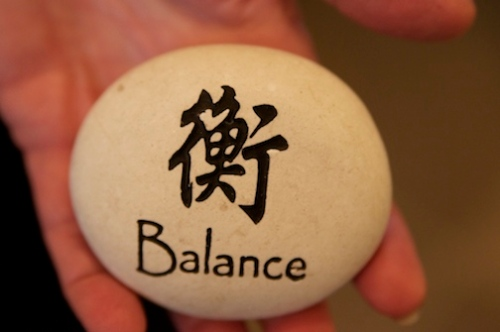 Wishing you balance through lifestyle and awareness. Namaste