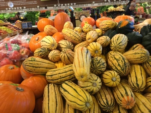 SQUASH: a lovely autumn treat: delicato is fast becoming one of my favorites