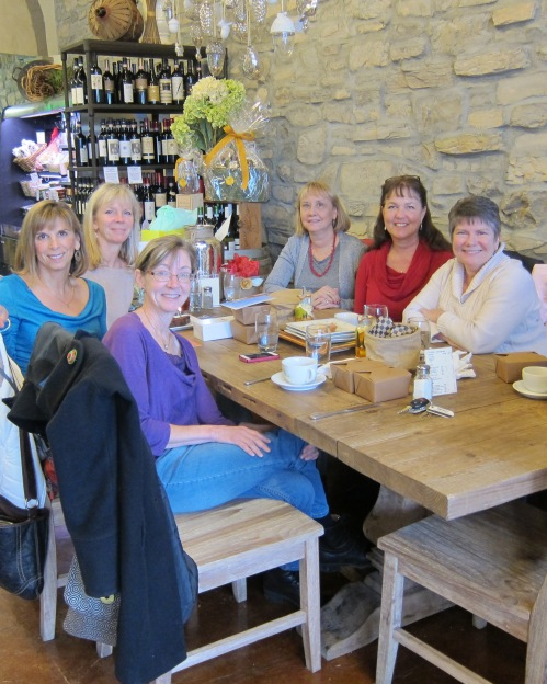 My beautiful birthday group: yet another celebration!